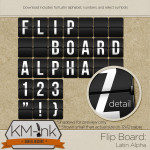 KMInk-Alpha-FlipBoard-Latin-Prev