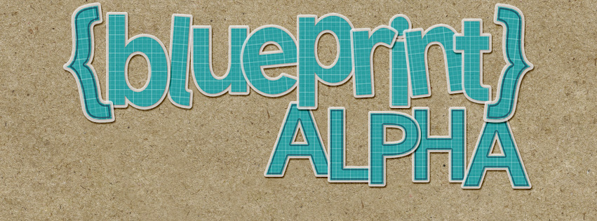 BLUEPRINT ALPHA {FREEBIE}
