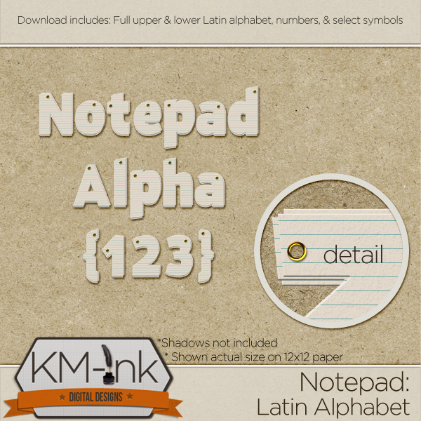 NOTEPAD ALPHA