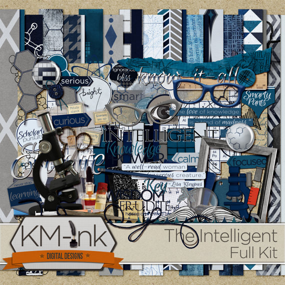 NEW KIT: THE INTELLIGENT {& FREEBIE}