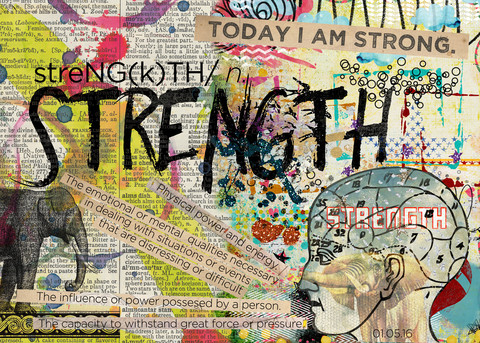 Art Journaling Your Word of the Year