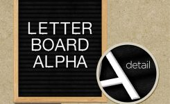 Letter Board Alpha in the Shop Now!